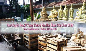 vận chuyển tượng Phật